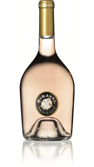 Bottle of Chateau Miraval Rose 2019 wine 750 ml