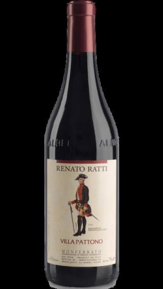 Bottle of Renato Ratti Monferrato Villa Pattono 2016 wine 750 ml