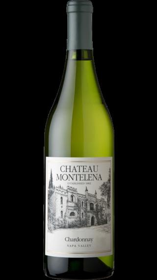Bottle of Chateau Montelena Chardonnay 2017 wine 750 ml