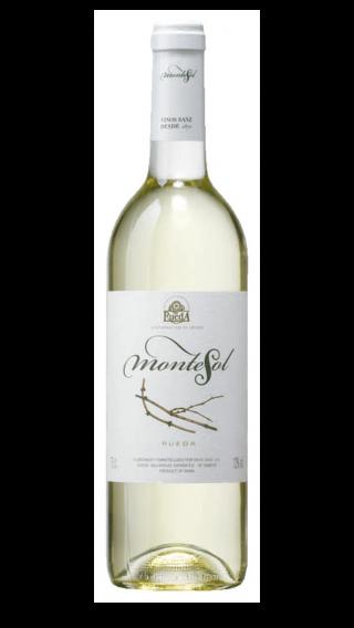 Bottle of Vinos Sanz Montesol Rueda 2017 wine 750 ml