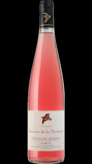 Bottle of Mordoree Cotes du Rhone Rose La Dame Rousse 2019 wine 750 ml