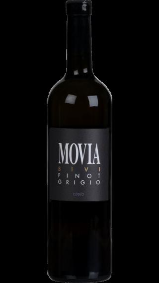 Bottle of Movia Sivi Pinot Grigio 2017 wine 750 ml