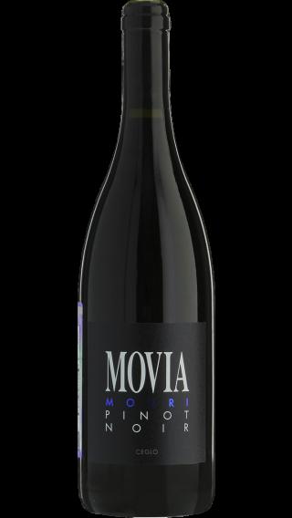 Bottle of Movia Modri Pinot Noir 2013 wine 750 ml