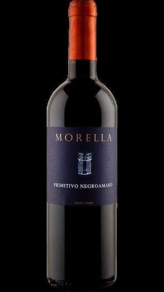 Bottle of Morella Negroamaro Primitivo 2017 wine 750 ml