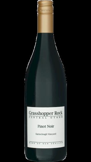 Bottle of Grasshopper Rock Pinot Noir 2015 wine 750 ml