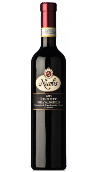 Bottle of Nicolis Recioto della Valpolicella 2017   wine 500 ml