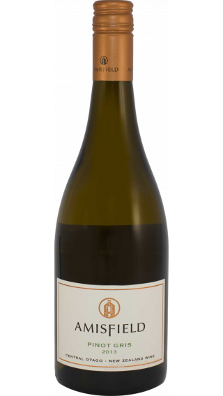 Bottle of Amisfield Pinot Gris 2013 wine 750 ml
