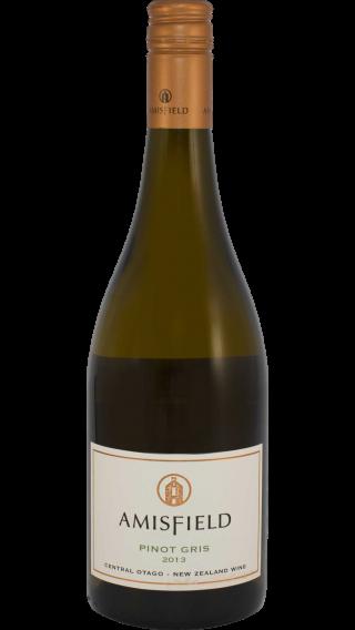 Bottle of Amisfield Pinot Gris 2014 wine 750 ml