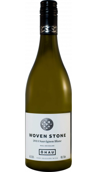 Bottle of Ohau Woven Stone Sauvignon Blanc 2014 wine 750 ml