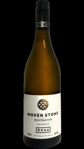 Bottle of Ohau Woven Stone Pinot Gris 2014 wine 750 ml
