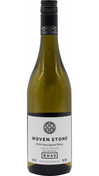 Bottle of Ohau Woven Stone Sauvignon Blanc 2016 wine 750 ml