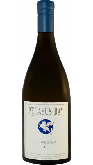 Bottle of Pegasus Bay Chardonnay 2012 wine 750 ml