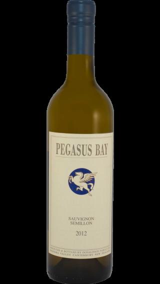 Bottle of Pegasus Bay Sauvignon Semillon 2012 wine 750 ml