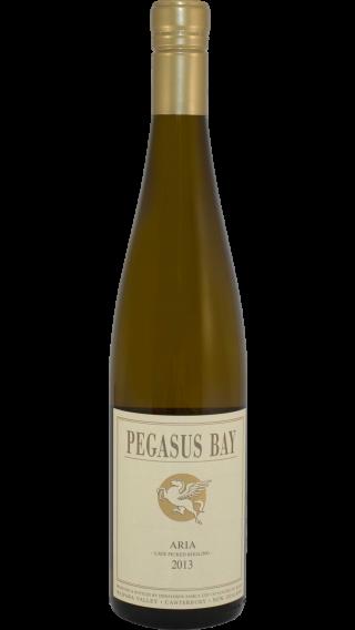 Bottle of Pegasus Bay Aria Late Picked Riesling 2013 wine 750 ml