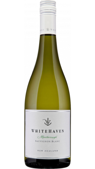 Bottle of Whitehaven Sauvignon Blanc 2019 wine 750 ml