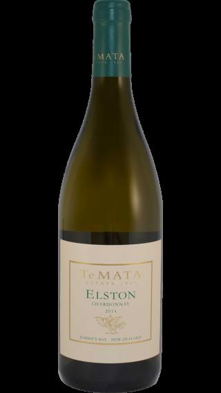 Bottle of Te Mata Estate Elston Chardonnay 2014 wine 750 ml