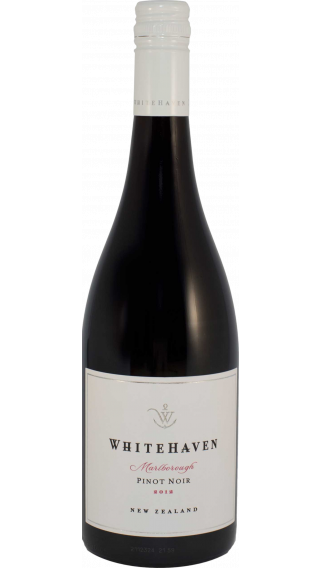 Bottle of Whitehaven Pinot Noir 2012 wine 750 ml