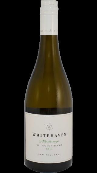Bottle of Whitehaven Sauvignon Blanc 2014 wine 750 ml