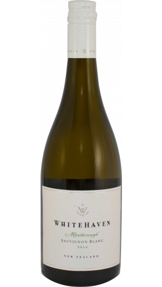 Bottle of Whitehaven Sauvignon Blanc 2015 wine 750 ml