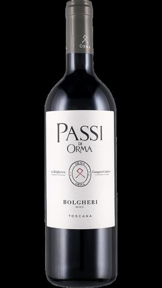 Bottle of Sette Ponti Passi di Orma 2017 wine 750 ml