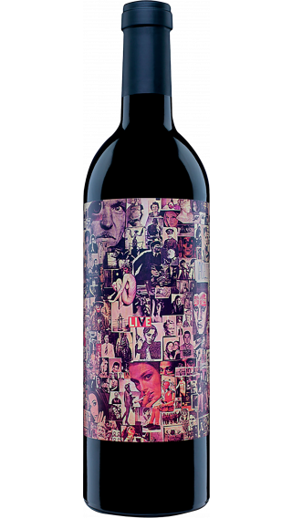 Bottle of Orin Swift Abstract 2018 wine 750 ml