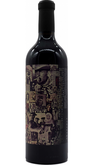Bottle of Orin Swift Abstract 2015 wine 750 ml