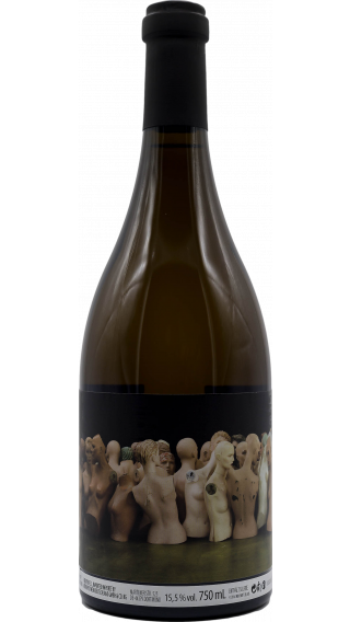 Bottle of Orin Swift Mannequin 2014 wine 750 ml