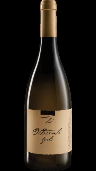 Bottle of Clai Ottocento Bijeli 2016 wine 750 ml