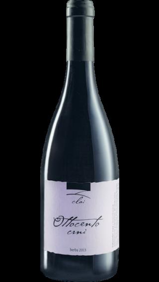 Bottle of Clai Ottocento Crno 2015 wine 750 ml
