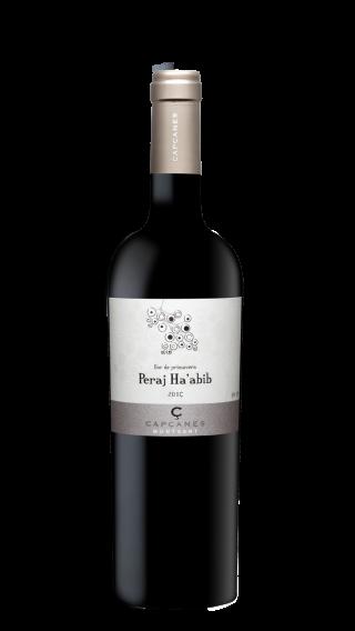 Bottle of Capcanes Peraj Ha'Abib Kosher 2016 wine 750 ml