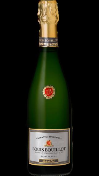 Bottle of Louis Bouillot Perle de Nuit Cremant de Bourgogne Blanc de Noirs wine 750 ml