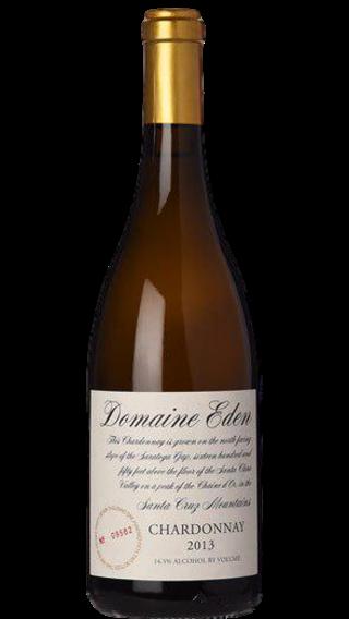 Bottle of Domaine Eden Chardonnay 2013 wine 750 ml