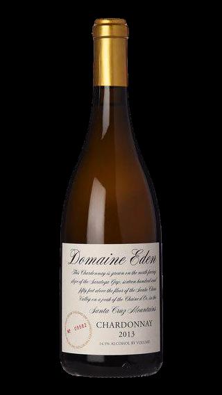 Bottle of Domaine Eden Chardonnay 2014 wine 750 ml