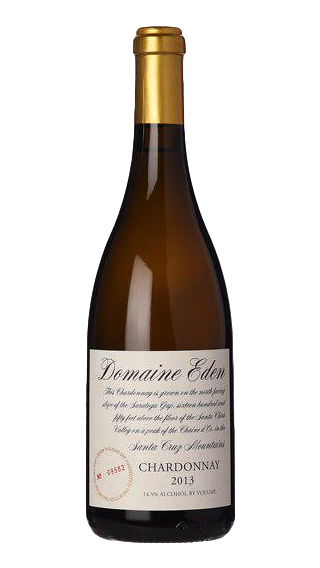 Bottle of Domaine Eden Chardonnay 2015 wine 750 ml