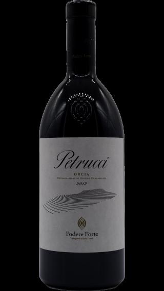 Bottle of Podere Forte Petrucci 2012 wine 750 ml