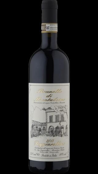 Bottle of Poggiarellino Brunello di Montalcino 2014 wine 750 ml