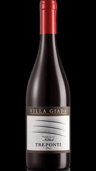 Bottle of Villa Giada Treponti Nebbiolo 2014 wine 750 ml