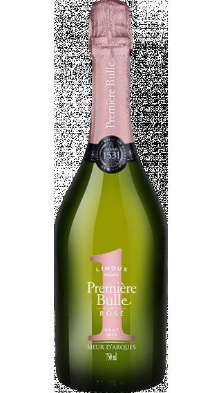 Bottle of Sieur d'Arques Premiere Bulle Rose Cremant  wine 750 ml