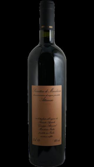Bottle of Attanasio  Primitivo di Manduria 2015 wine 750 ml