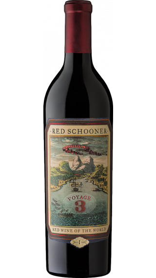 Bottle of Caymus Red Schooner Voyage 3 wine 750 ml