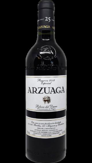 Bottle of Arzuaga Reserva Especial 2012 wine 750 ml