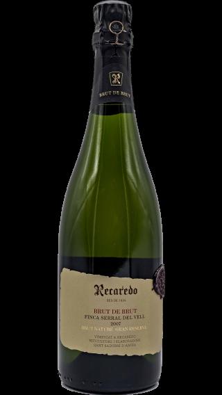Bottle of Recaredo Cava Brut de Brut Finca Serral del Vell 2007 wine 750 ml