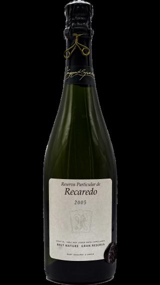 Bottle of Recaredo Cava Reserva Particular 2005 wine 750 ml