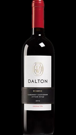 Bottle of Dalton Reserve Cabernet Sauvignon 2017 wine 750 ml