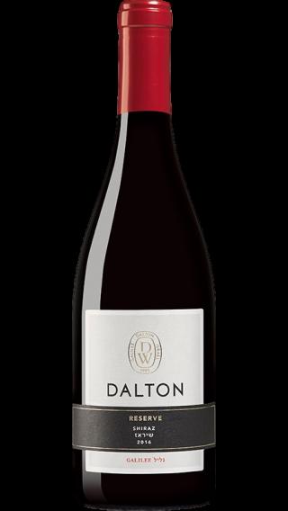 Bottle of Dalton Reserve Syrah 2017 wine 750 ml