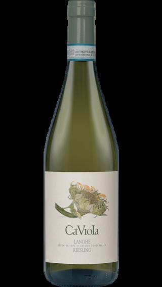 Bottle of Ca Viola Langhe Riesling 2017 wine 750 ml