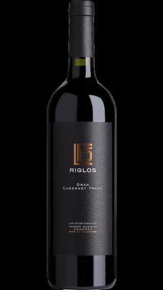 Bottle of Riglos Gran Cabernet Franc 2017 wine 750 ml