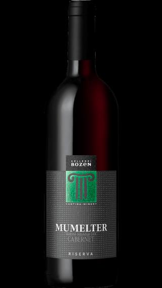 Bottle of Kellerei Bozen Cabernet Riserva Mumelter 2017 wine 750 ml
