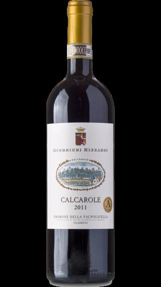 Bottle of Rizzardi Calcarole Amarone Della Valpolicella 2013 wine 750 ml