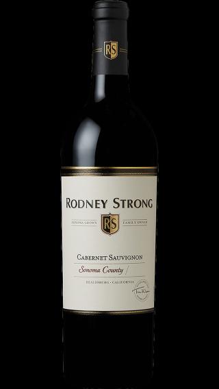 Bottle of Rodney Strong Cabernet Sauvignon 2017 wine 750 ml